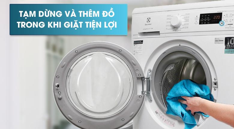 Tính năng Add Clothes - Máy giặt Electrolux Inverter 7.5 Kg EWF7525DGWA